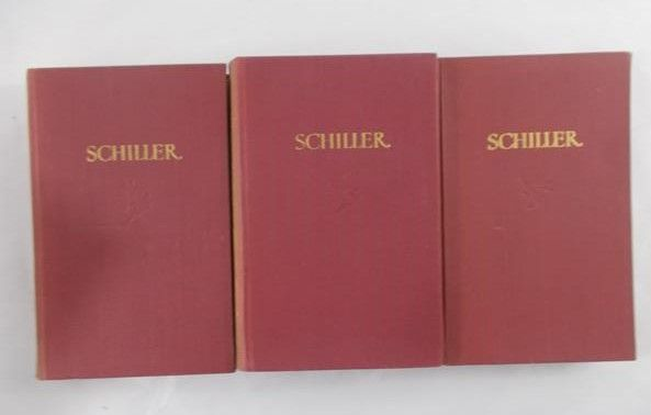 Schiller - Dzieła wybrane, Tom I - III