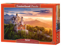 Puzzle View of the Neuschwanstein Castle, Germany 500