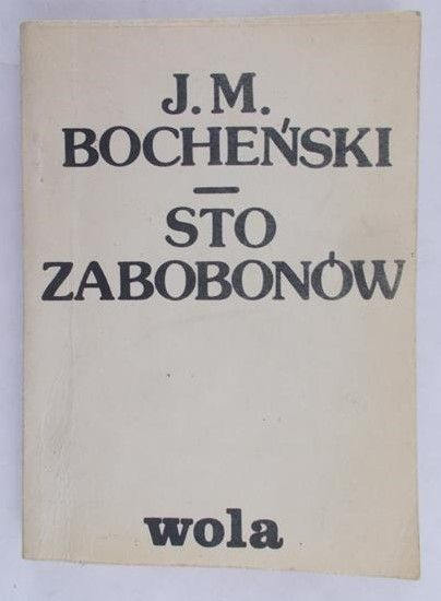 Bocheński Józef - Sto zabobonów