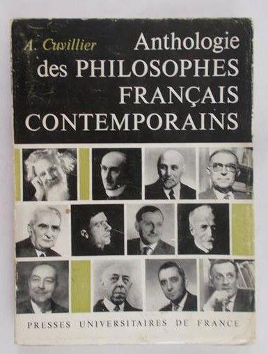 Cuvillier A. - Anthologie des philosophes