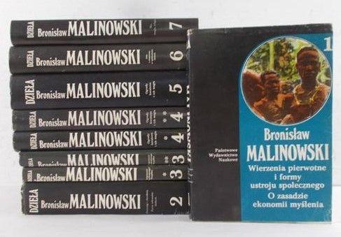 Malinowski Bronisław - Dzieła, Tom I-VII (całość)