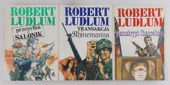 Ludlum Robert - Zestaw 3 książek