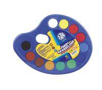 Farby akwarelowe 12 kolorów paleta