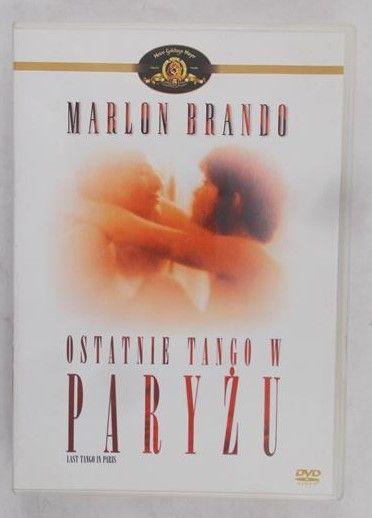 Marlon Brando - Ostatnie tango w Paryżu, płyta DVD