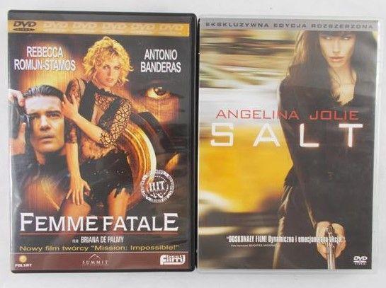 Banderas Antonio/ Jolie Angelina - Femme Fatale/Salt,2  płyty DVD