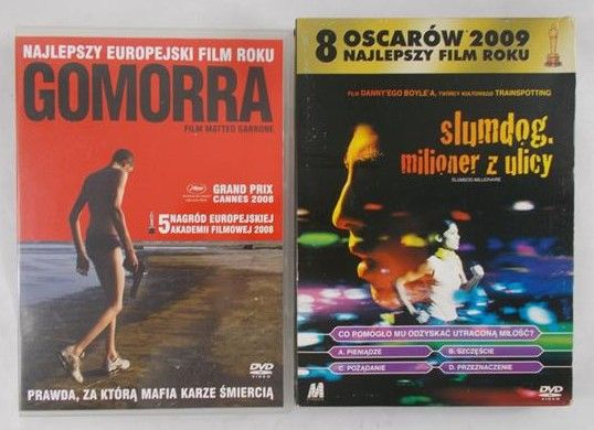 Boyle / Garrone - Slumdog, milioner z ulicy / Gomorra