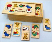 Domino drewniane 1/48 Farma