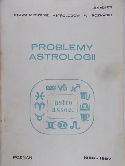 Bońkowski Witold - Problemy astrologii