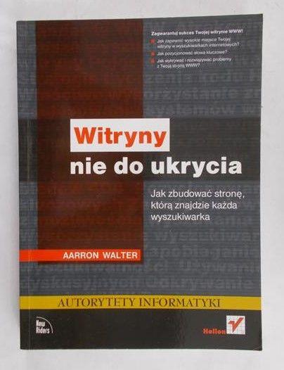 Walter Aarron - Witryny nie do ukrycia