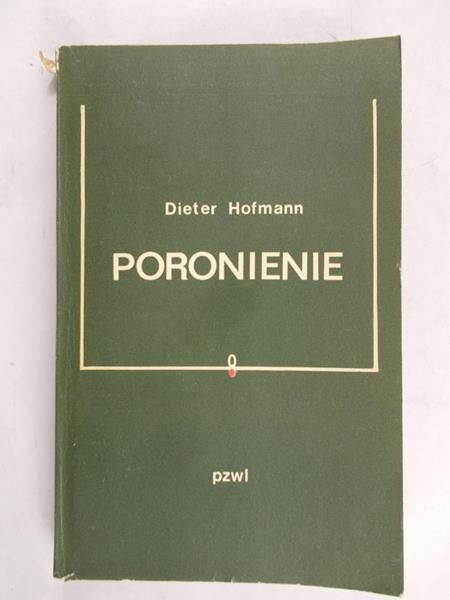 Hofmann Dieter - Poronienie