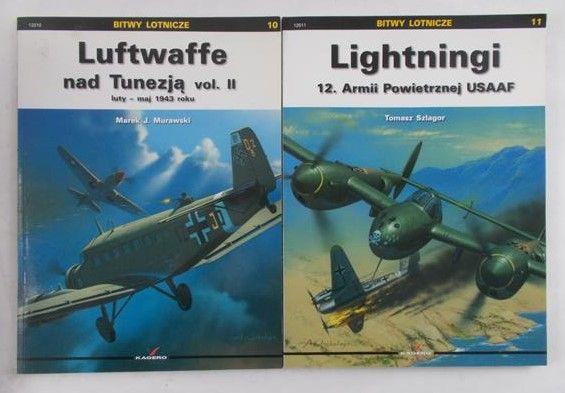 Murawski / Szlagor - Luftwaffe nad Tunezją vol. II / Lightningi 12. Armii Powietrznej USAAF