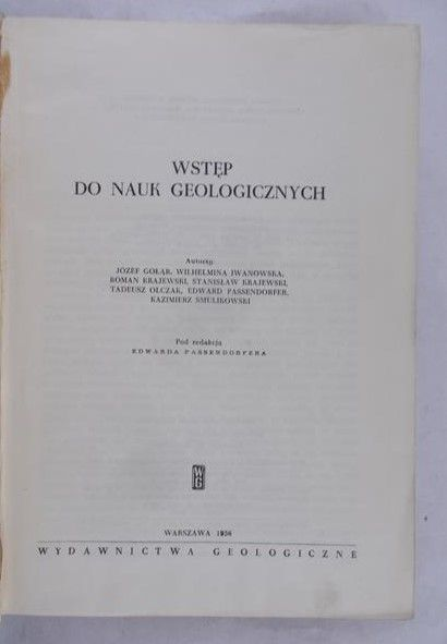Raczyńska Anna (red.) - Wstęp do nauk geologicznych