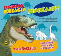 Kolorowa edukacja Dinozaury