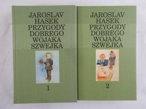Hasek Jaroslav - Przygody dobrego wojaka Szwejka, tom I-II