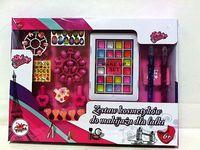 Zestaw kosmetyków dla lalki Duży zestaw z tipsami Playme