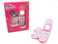 Zestaw kosmetyków dla lalki Rozkładany telefon 3 części