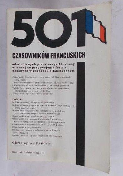 Christopher Kendris - 501 czasowników francuskich