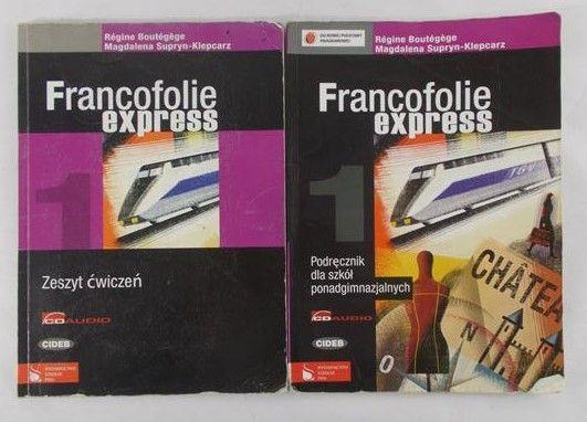 Boutegege Regine - Francofolie Express. Zeszyt ćwiczeń+Podręcznik