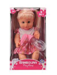 Lalka Bambolina z grzebieniem