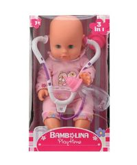 Lalka Bambolina ze stetoskopem
