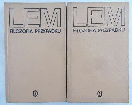 Lem Stanisław - Filozofia przypadku, Tom I-II