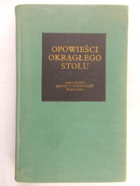 Boulenger Jacques (opr.) - Opowieści Okrągłego Stołu