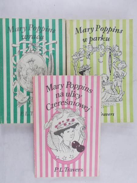 Travers P. L. - Mary Poppins na ulicy Czereśniowej / w parku / wraca