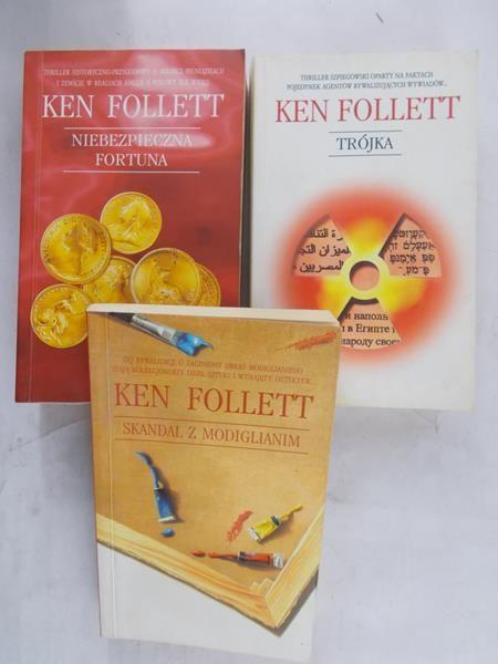 Follett Ken - Skandal z Modiglianim/ Niebezpieczna fortuna/ Trójka