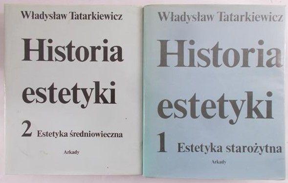 Tatarkiewicz Władysław - Historia estetyki, tom I-II
