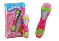 Różowy mikrofon karaoke melodie