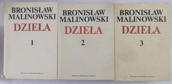Malinowski Bronisław - Dzieła tom I- III
