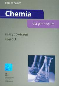 Chemia część 3 zeszyt ćwiczeń