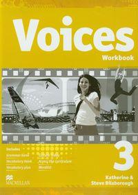 Voices 3 Workbook z płytą CD gimnazjum