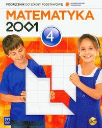 Matematyka 2001 4: Podręcznik z płytą CD