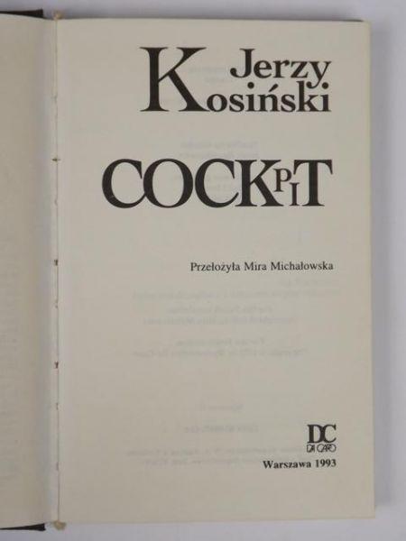 Kosiński Jerzy - Cockpit