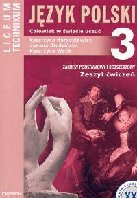 Język polski 3 Zeszyt ćwiczeń Człowiek w świecie uczuć