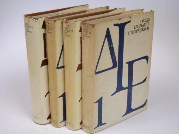 Dzieje literatur europejskich, Tom 1-2
