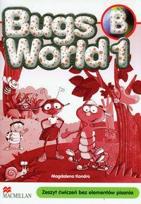 Bugs World 1B. Zeszyt ćwiczeń bez elementów pisania