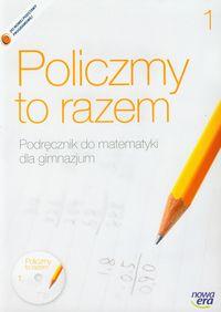 Janowicz Jerzy - Policzmy to razem 1 Podręcznik do matematyki z płytą CD