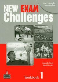 Mower David - New Exam Challenges 1 Workbook z płytą CD