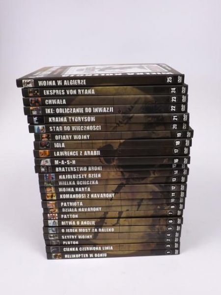The best of… Filmy wojenne, 24 DVD
