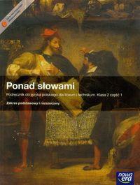 Ponad słowami 2 Język polski Podręcznik z płytą CD część 1
