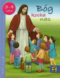 Bóg kocha nas 3-4 lata podęcznik Przedszkole