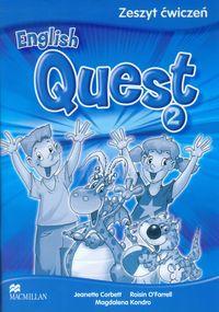 English Quest 2 Zeszyt ćwiczeń