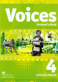 McBeth Catherine - Voices 4: Student's Book + CD gimnazjum