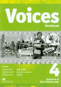 Bilsborough Steve - Voices 4: Workbook z płytą CD Gimnazjum
