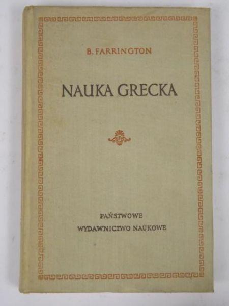 Znalezione obrazy dla zapytania Farrington Nauka grecka