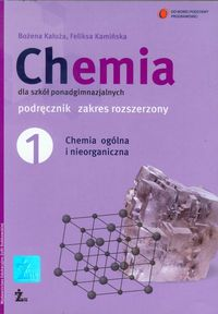 Chemia 1 Podręcznik Chemia ogólna i nieorganiczna Zakres rozszerzony