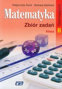 Matematyka 2 Zbiór zadań Gimnazjum