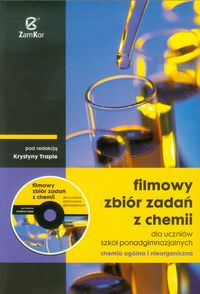 Filmowy zbiór zadań z chemii z płytą CD